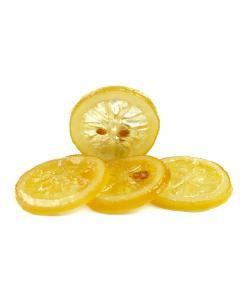 Citron cold confit en rondelles