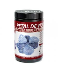 Pétales de violette cristallisés
