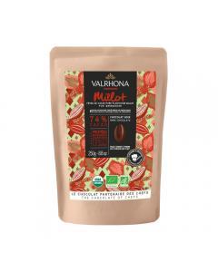 Chocolat noir de couverture bio Millot 74%