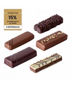 Promotion Colis Choco'bars 5 boites + étuis