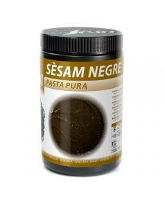 Pâte pure de sésame noir