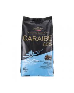 Caraïbe 66% fèves 3 kg