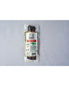 Gousse de vanille bio de madagascar 125 g 16-23 cm