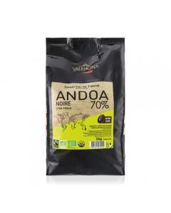Andoa noire 70% fèves 3 kg