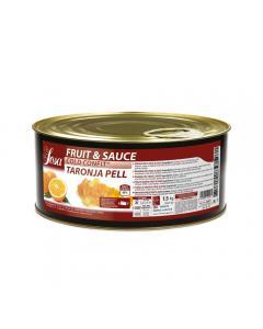 Orange fruit&sauce