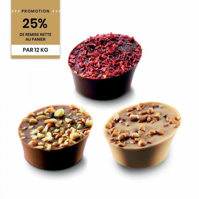 Promotion bonbons granites 12kg par Valrhona