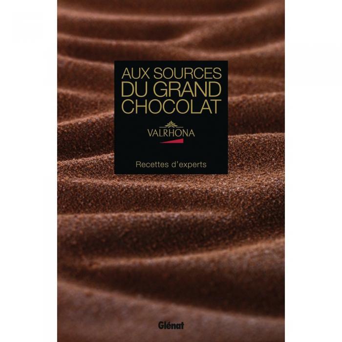 Livre Aux Sources du Grand Chocolat par Valrhona
