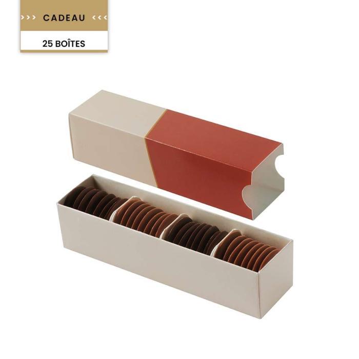 promotion palets fourrés & pleins (6 boites) par valrhona