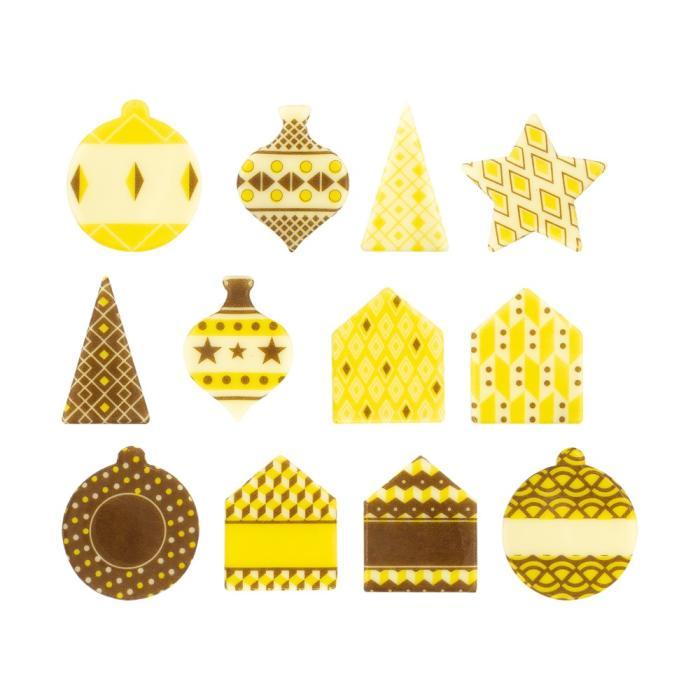 formes noël 21 modèles par chocolatree