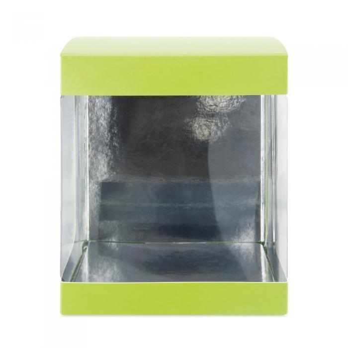 boite verte pour moulage de 14 cm par valrhona