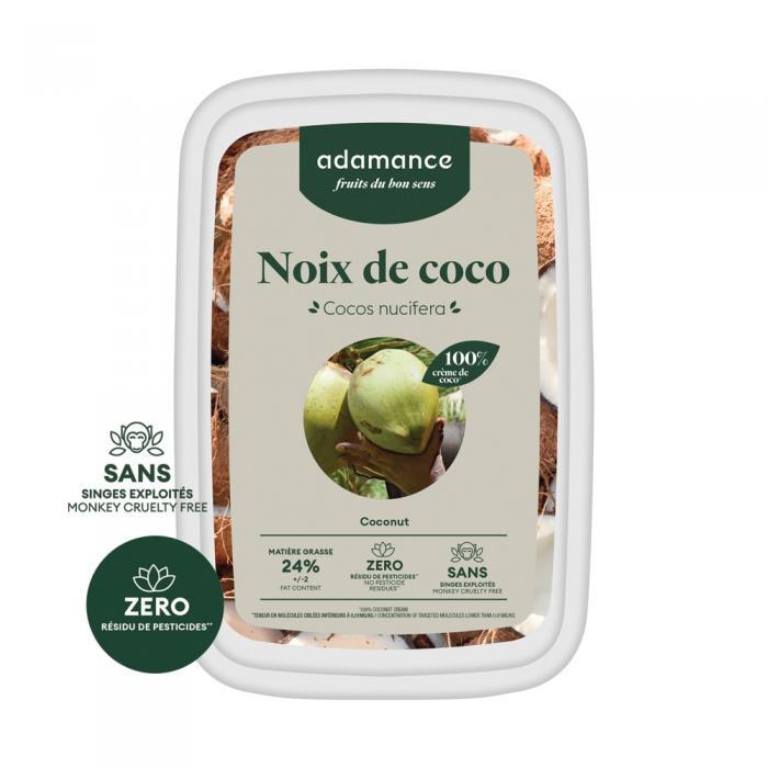 Creme de noix de coco 1kg par Adamance