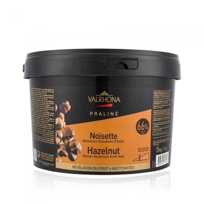 Praline Noisette 66% fruite 5 kg par Valrhona