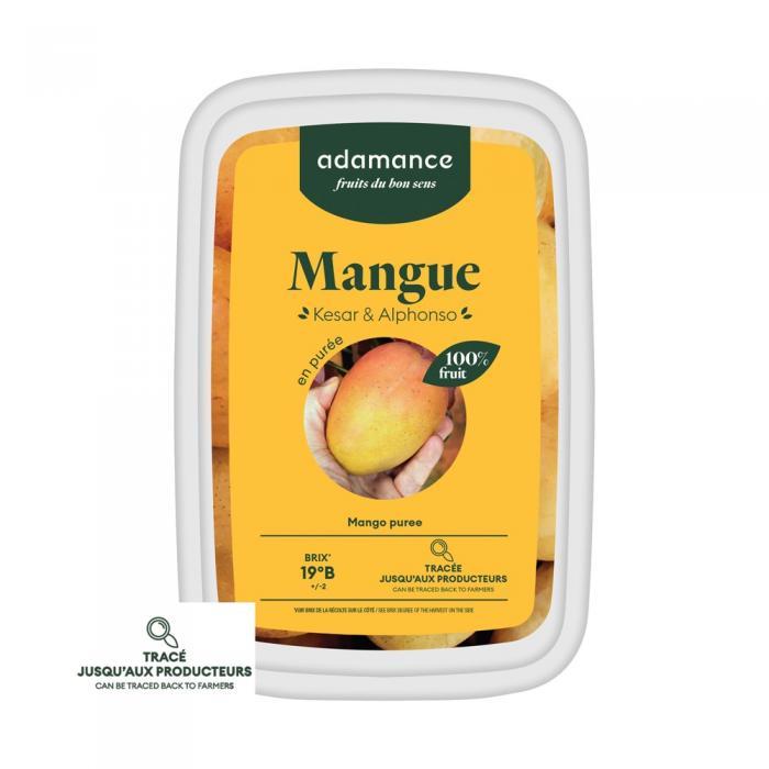 Mangue kesar et alphonso en puree 1kg par Adamance