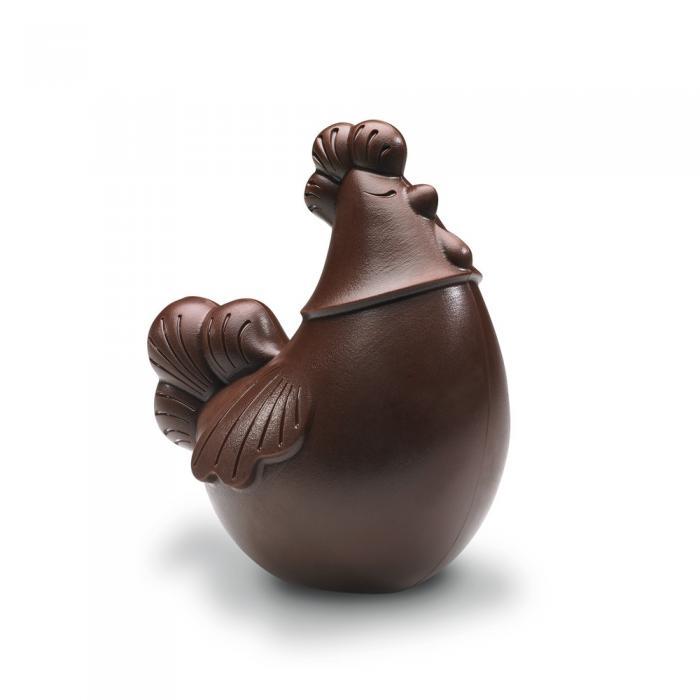 Moule poule 14 cm par Valrhona