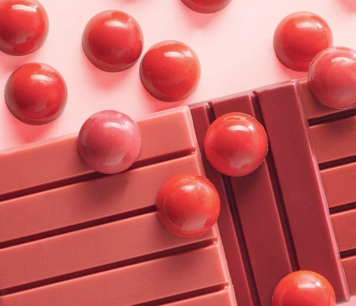 Colorant rouge naturel pour patisserie professionnelle